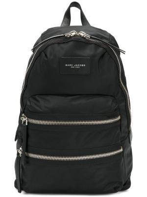Байкерский рюкзак Marc Jacobs. Цвет: чёрный