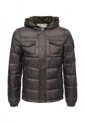 Куртка утепленная Rifle. Цвет: серый