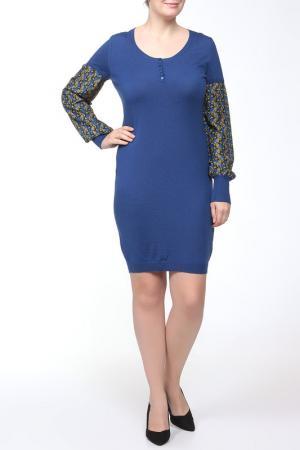 Платье Whos Who Who's. Цвет: синий