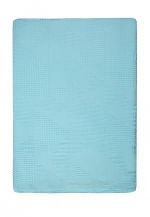 Простыня Arloni. Цвет: голубой