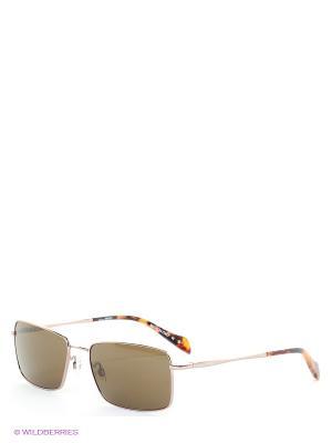 Солнцезащитные очки FG 552 04 Gianfranco Ferre. Цвет: золотистый, серо-коричневый