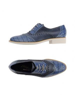 Обувь на шнурках F.LLI BRUGLIA. Цвет: пастельно-синий