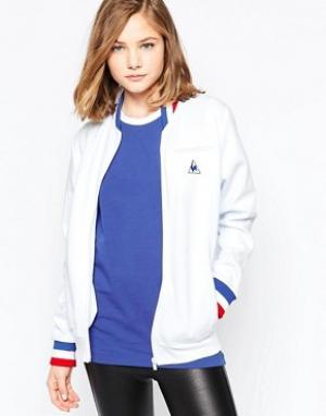 Le Coq Sportif Спортивная куртка Vasili. Цвет: белый
