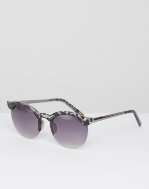 7X Солнцезащитные очки. Цвет: коричневый