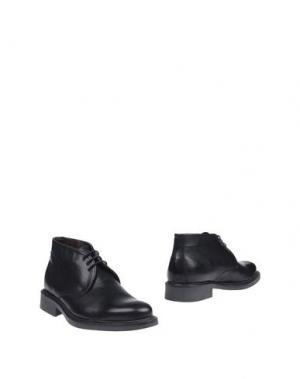 Полусапоги и высокие ботинки ZEN. Цвет: черный