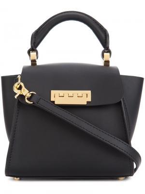 Мини сумка через плечо Eartha Iconic Top Handle Zac Posen. Цвет: чёрный