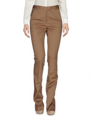 Повседневные брюки NEW YORK INDUSTRIE. Цвет: верблюжий
