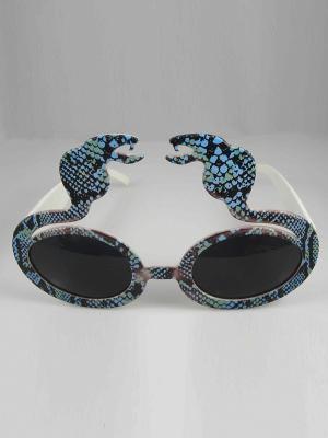 Карнавальные очки Magic Home. Цвет: белый