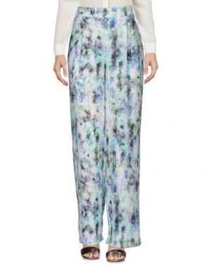 Повседневные брюки LAVAND.. Цвет: светло-зеленый