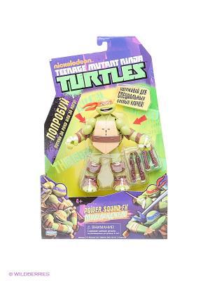 Фигурка Черепашка-ниндзя Микеланджело Playmates toys. Цвет: зеленый, коричневый, красный