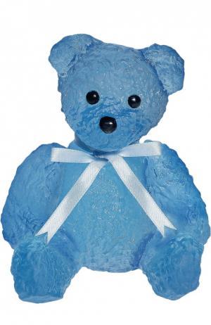 Скульптура Serge Mansau Teddy Bear Daum. Цвет: бесцветный