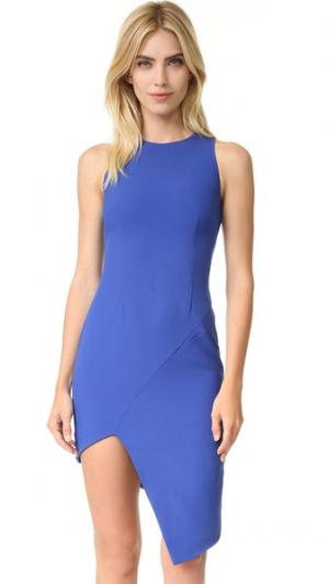 Платье Spliced findersKEEPERS. Цвет: кобальт