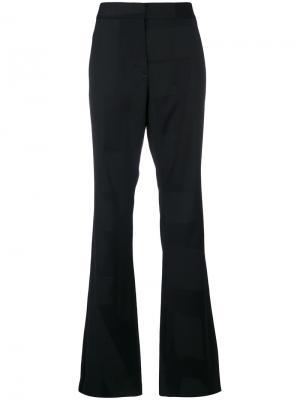 Расклешенные брюки строгого кроя Moschino. Цвет: чёрный