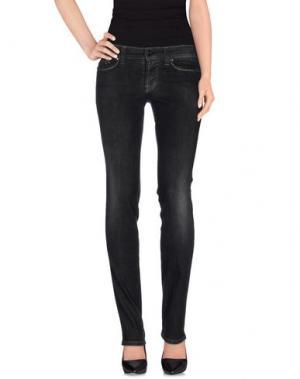 Джинсовые брюки S.O.S by ORZA STUDIO. Цвет: стальной серый