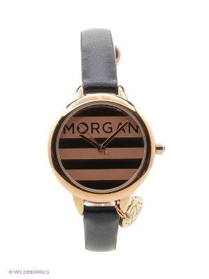 Часы Morgan. Цвет: синий