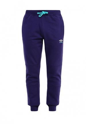 Брюки спортивные Umbro. Цвет: фиолетовый