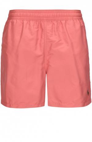 Плавки-шорты Polo Ralph Lauren. Цвет: розовый