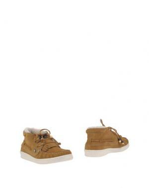 Полусапоги и высокие ботинки DOLFIE. Цвет: верблюжий
