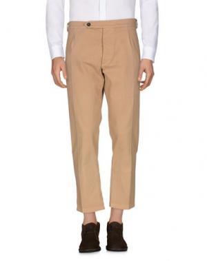 Повседневные брюки C.Y.H. CLAP YOUR HAND. Цвет: песочный
