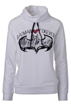 Толстовка Batman. Цвет: белый