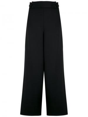 Wide leg trousers Gloria Coelho. Цвет: чёрный