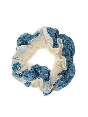 Резинка Infiniti. Цвет: молочный, голубой