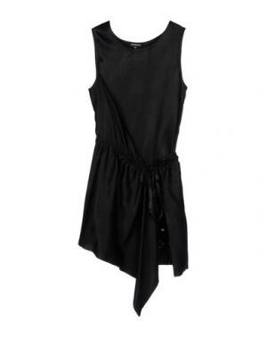 Короткое платье ANN DEMEULEMEESTER. Цвет: черный