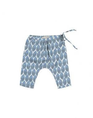 Повседневные брюки BABE & TESS. Цвет: лазурный