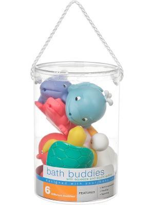 Игрушка для ванны Водные животные Battat. Цвет: красный