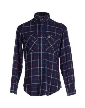Pубашка JOHNNY LAMBS. Цвет: темно-синий