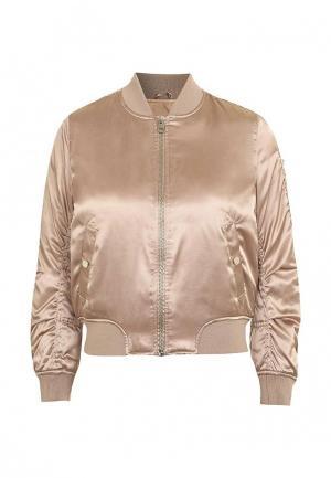 Куртка утепленная Topshop. Цвет: золотой