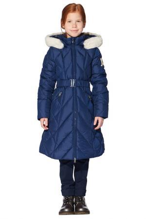 Пальто Junior Republic. Цвет: синий