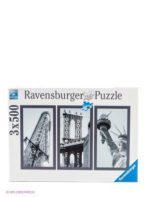 Пазл Воспоминания о Нью-Йорке Ravensburger. Цвет: белый