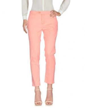 Повседневные брюки BONPOINT. Цвет: лососево-розовый