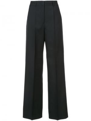 Расклешенные брюки Jil Sander. Цвет: чёрный