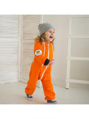Комбинезон Bambinizon. Цвет: оранжевый