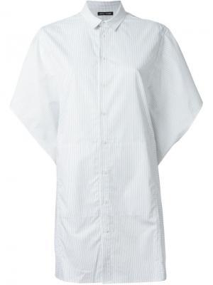 Свободная рубашка Each X Other. Цвет: белый