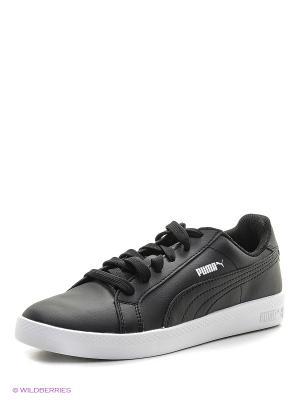 Кроссовки Puma Smash Wns L. Цвет: черный