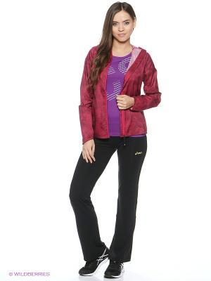 Куртка FujiTrail Pack Jkt ASICS. Цвет: темно-красный
