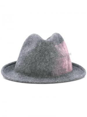 Шляпа Gayane Celine Robert. Цвет: серый