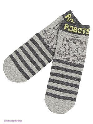 Носки PlayToday. Цвет: серый
