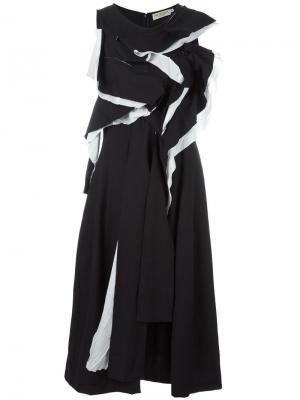 Платье Rene Ivan Grundahl. Цвет: чёрный