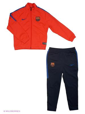 Спортивный костюм FCB Y TRK SUIT SQD LK K Nike. Цвет: красный