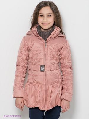 Пальто BORELLI. Цвет: персиковый