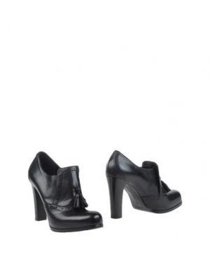Ботинки EMANUELA PASSERI. Цвет: черный