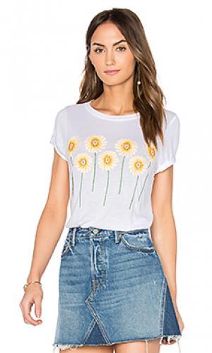 Классическая футболка janie Lauren Moshi. Цвет: белый