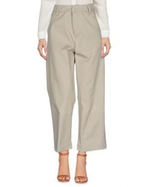 Повседневные брюки CARHARTT. Цвет: бежевый