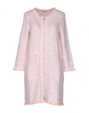 Пальто BRUNO MANETTI. Цвет: розовый