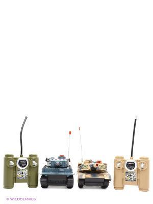 Танковый бой 508-10 Blue Sea. Цвет: темно-серый, бежевый