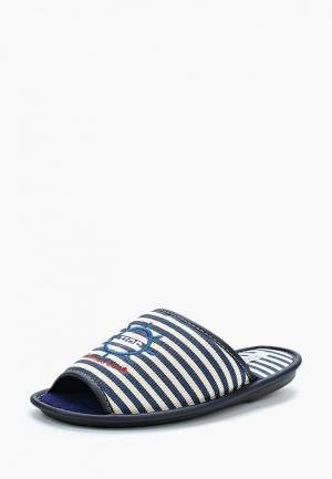Тапочки HCS. Цвет: синий